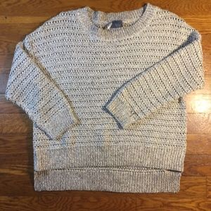 Urban Outfitters Sparkle and Fade Shimmer Sweater